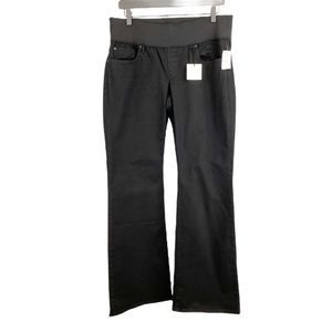 GAP 1969 Maternity Sexy Boot Jeans Black 12 / 31